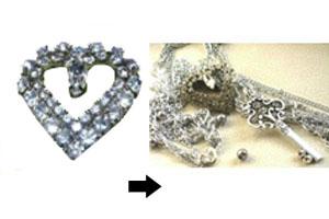 Repurposing vintage jewelry