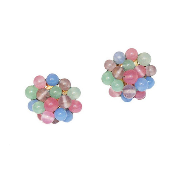 Coro Beaded earrings