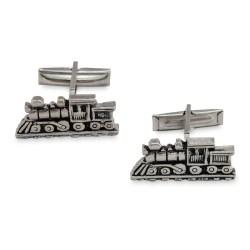 railroad cufflinks