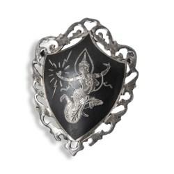 Siam silver brooch