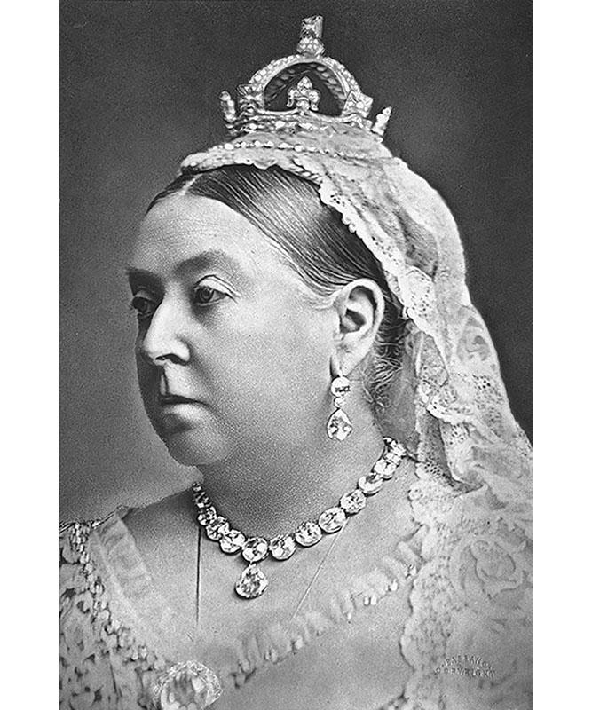 Queen Victoria coronation earrings (1887)