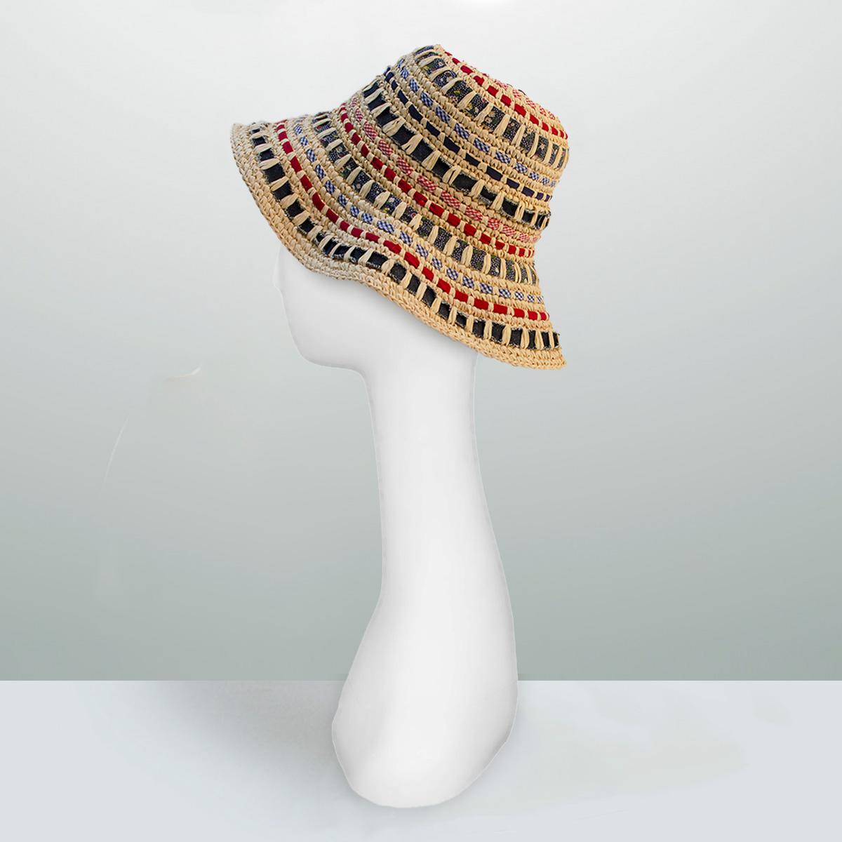 floppy straw beach hat