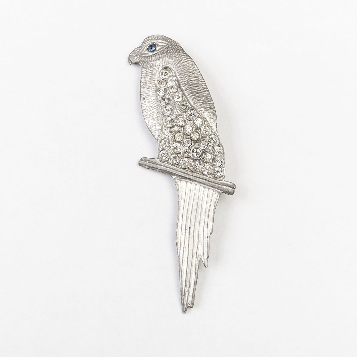 vintage 1940s bird brooch
