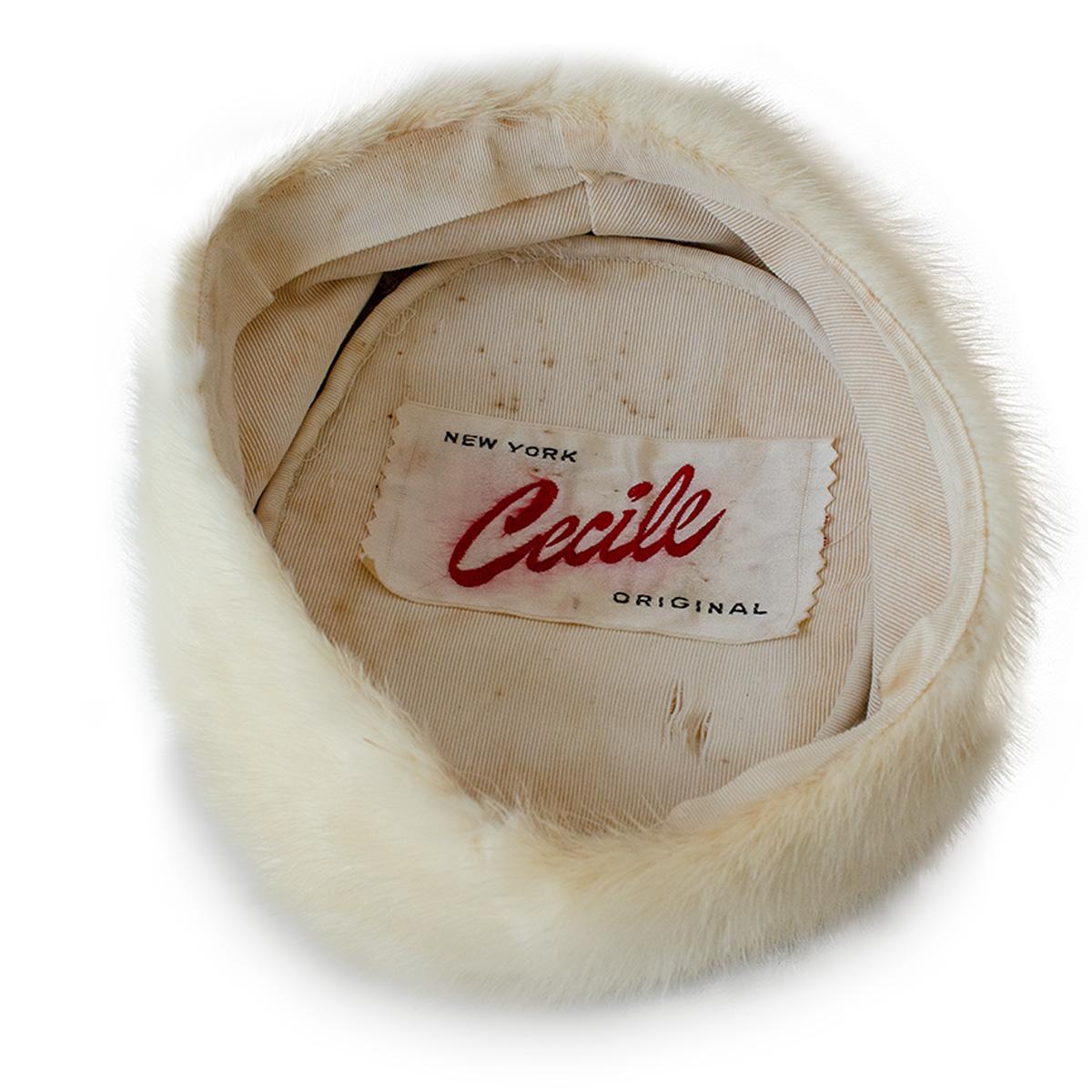 vintage cecile hat