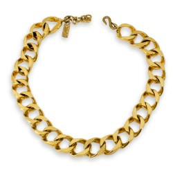 YSL Curb Chain necklace