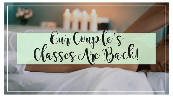 The Return of Couple's Classes