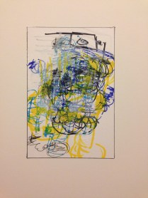 <<>>, 2015; 23 potential marker choices on paper mounted to board; 8x10 inches, object size