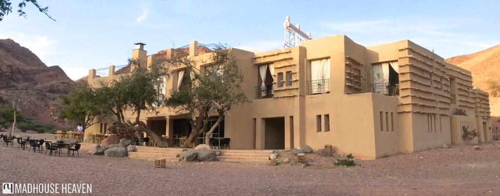 Feynan desert Ecolodge, an oasis in Dana Nature Reserve