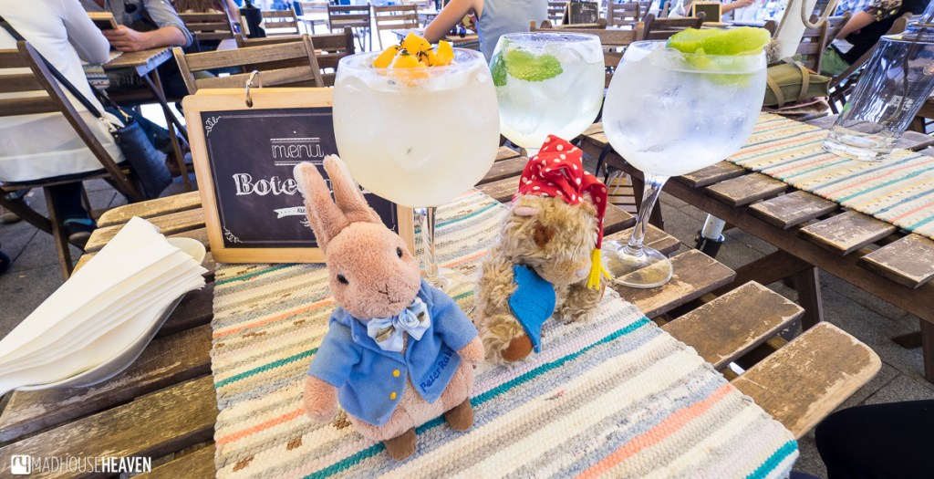 Peter Rabbit with a Gin and Tonic, Porto Where to Eat and Drink