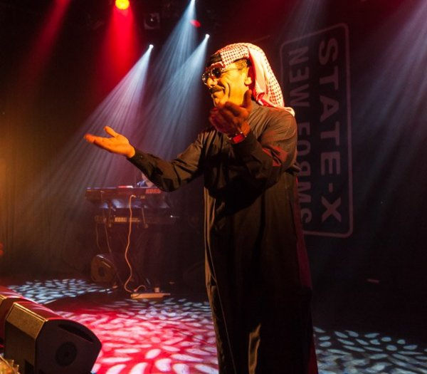 Omar Souleyman, live at Paard van Troje, The Hague, the Netherlands