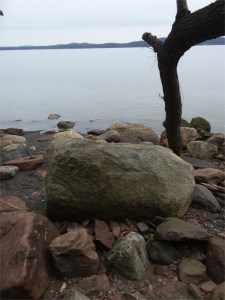 Looking across the Hudson