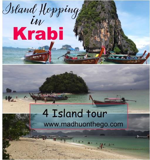 Island hopping in Krabi-4 island tour