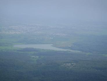 View from Mullayangiri Peak