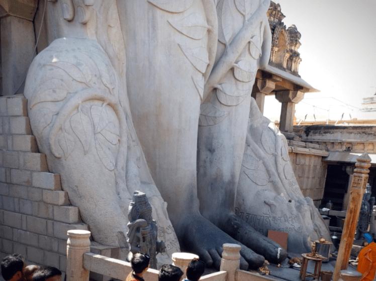 Bahubali temple, Shravanbelgola.png