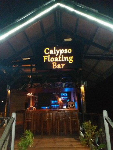 Calypso floating bar
