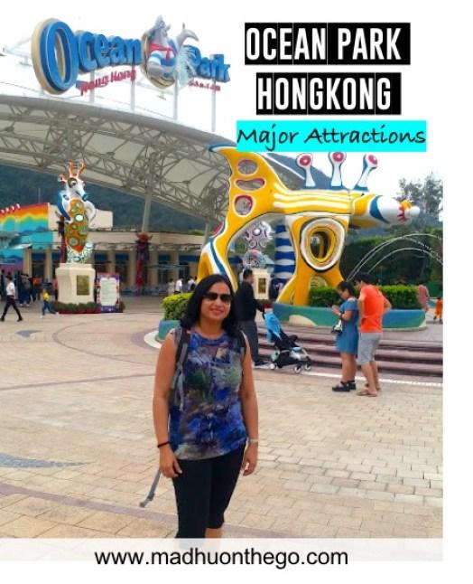 Visiting Ocean park Hongkong with Kids