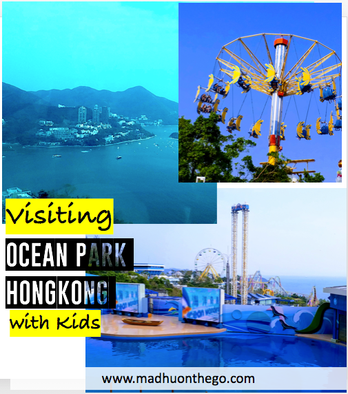 Visiting Ocean park Hongkong with kids