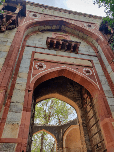 Humayun's Tomb entrance
