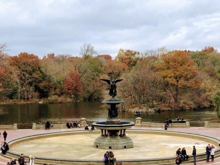 The fountain central park, New york