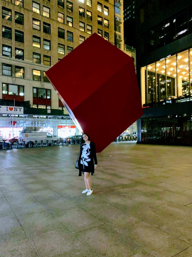 13. Red Cube Square, New York