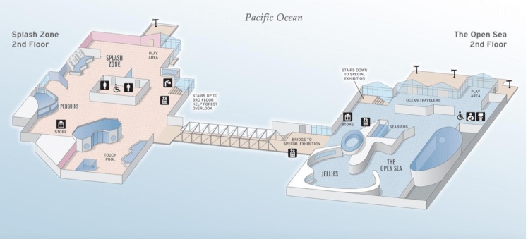 Monterey Bay Aquarium- Map