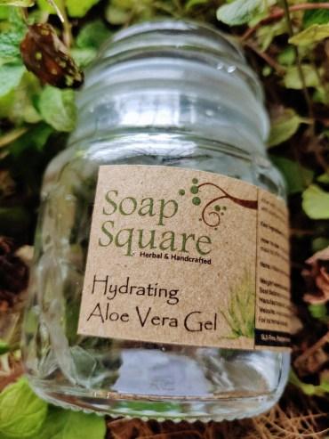 Soap square Aloe vera gel