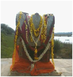 Sri Madhava Theertharu Moola Vrundavana at Kampli