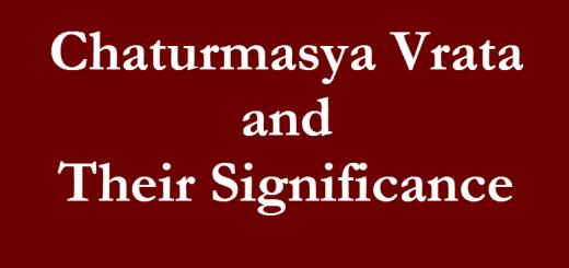 chaturmasya-vrata-significance