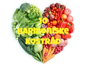 10 harmoniske kostråd