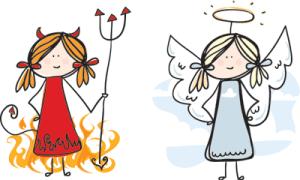 Djævel og Engel