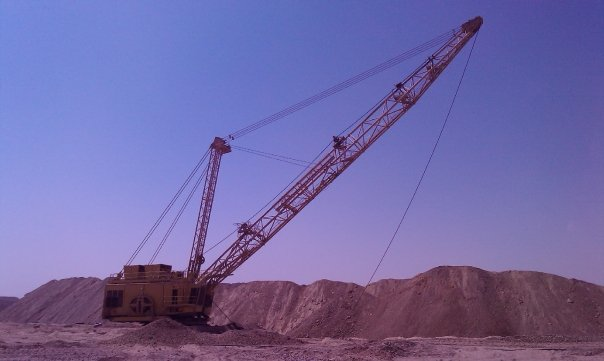 MCC phosphate drag line south Egypt