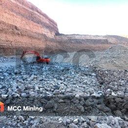 MCC mining excavator