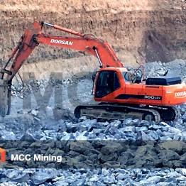 MCC mining DOOSAN excavator