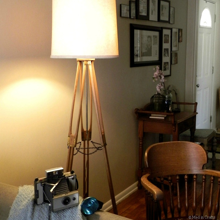 Vintage Camera Tripod Lamp  Mad in Crafts