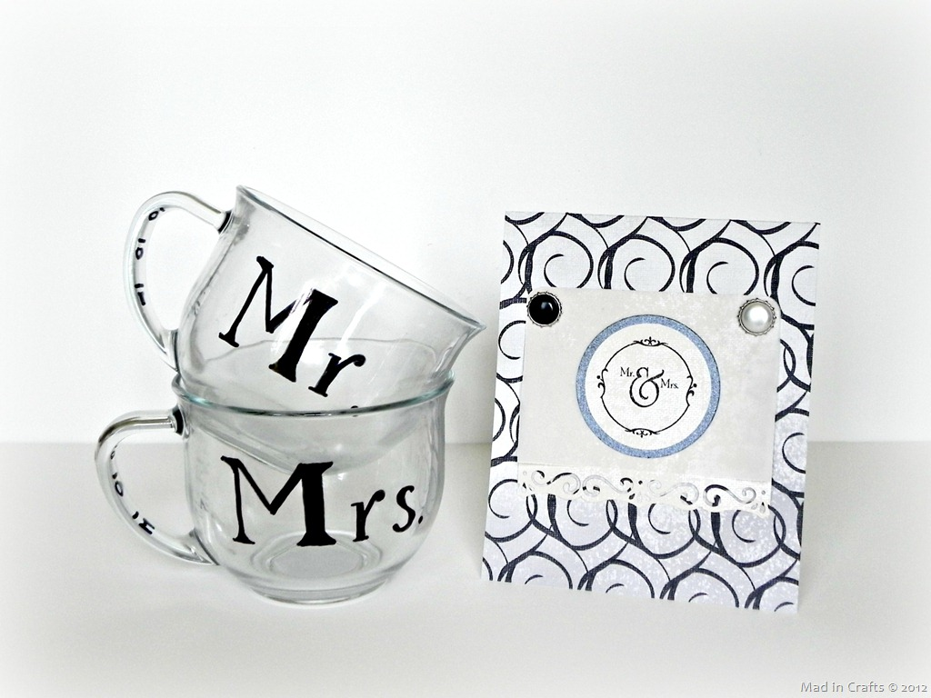 A Black And White Wedding Gift Mad