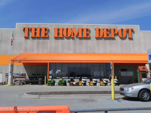 Trip to The Home Depot