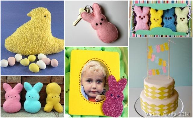 Crafts that look like Peeps
