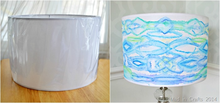 Lampshade Before and After