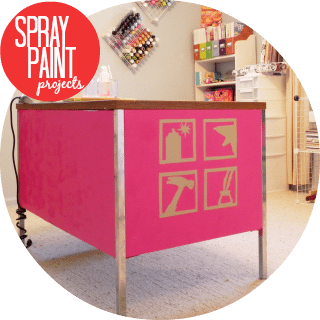 spray paint projects