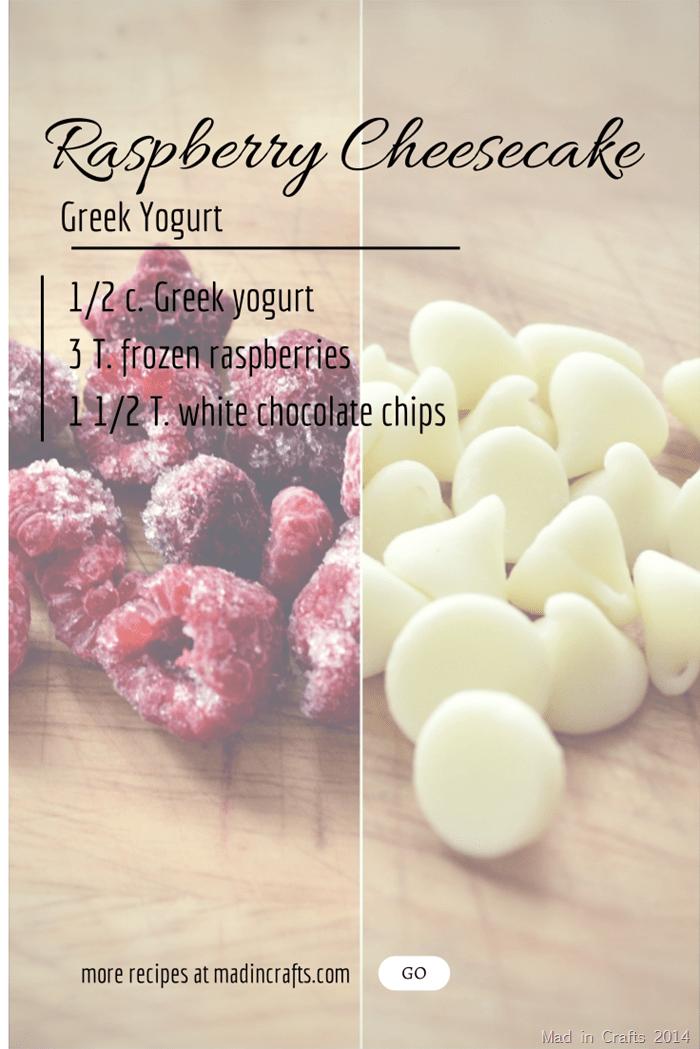 frozen raspberries and white chocolate chips