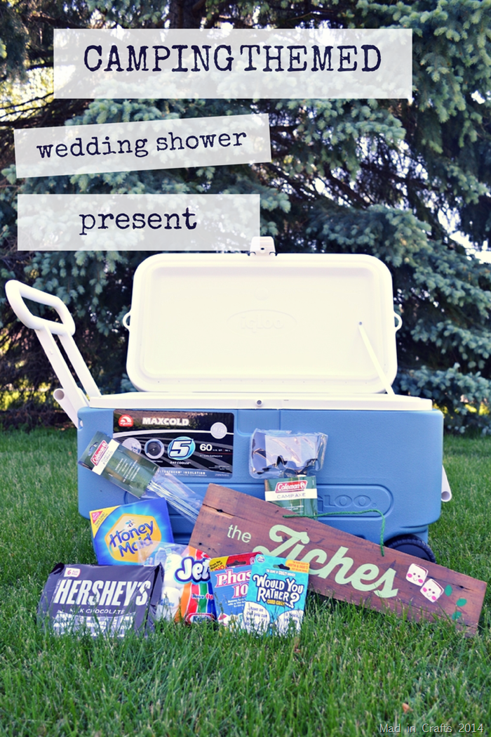 Camping Themed Shower Gift