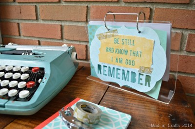 TWO-SIDED DESK CALENDAR WITH HEIDI SWAPP