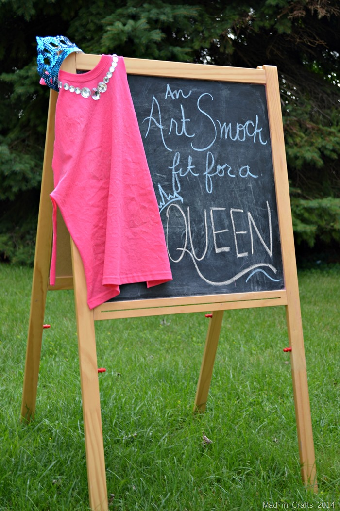 Art Smock Fit for a Queen