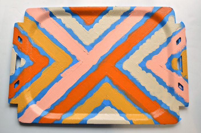 Chalk Paint stripes