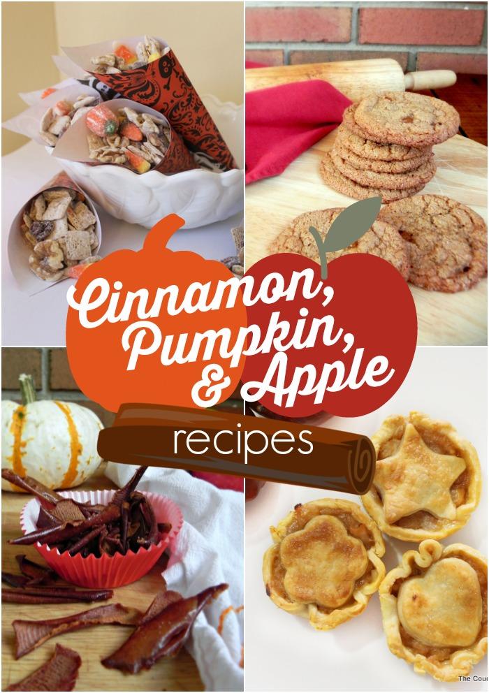 Cinnamon Pumpkin and Apple Recipes