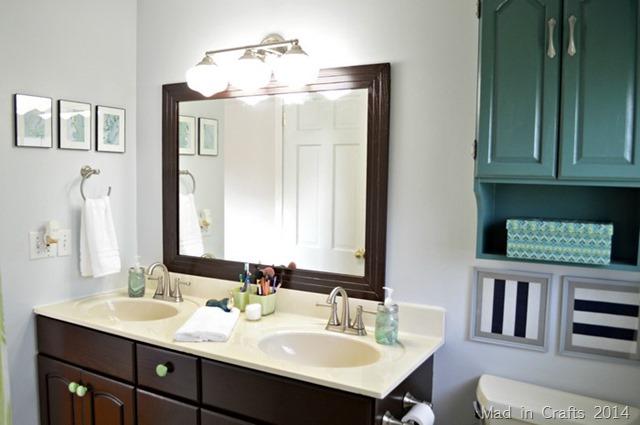 DIY BATHROOM MAKEOVER REVEAL