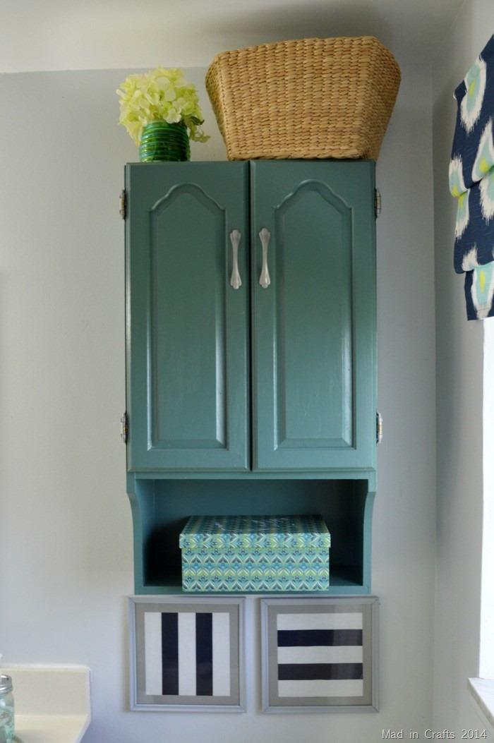 Painted Bathroom Cabinet