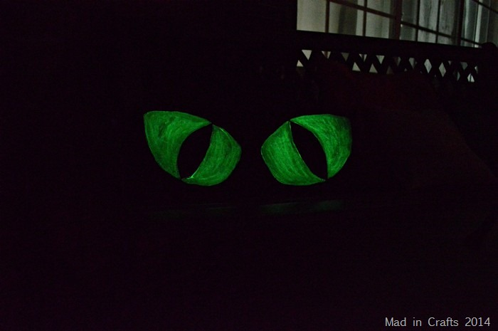 Pillows Painted with Glow in the Dark Paint