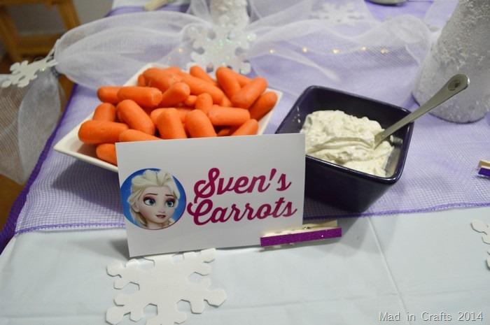 Frozen Party Foods