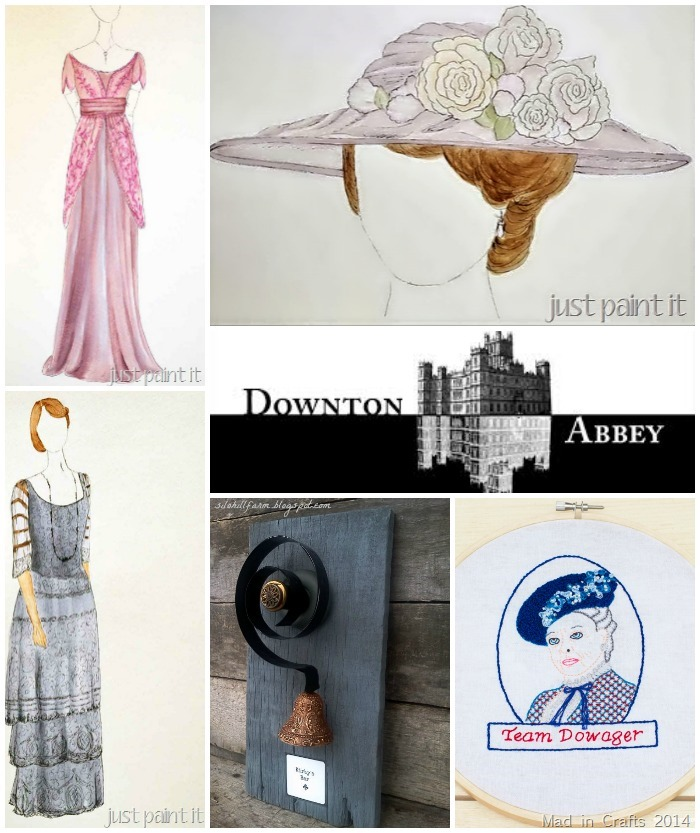 Downton Abbey Crafts and Decor